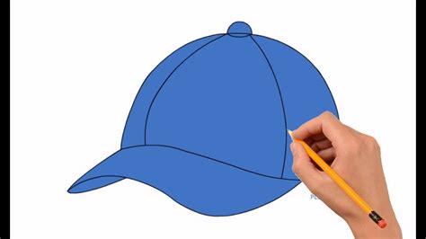 draw  baseball cap step  step easy  kids