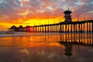 Orange County Piers - California Beaches