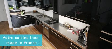 plan de travail cuisine inox sur mesure etagères inox
