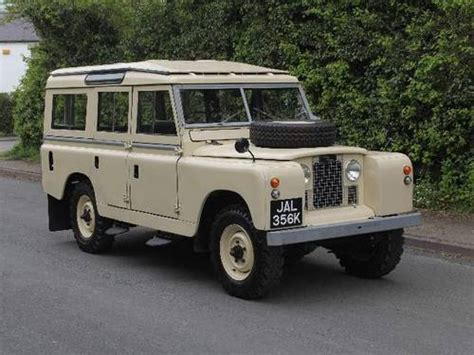 land rover series iia 109 station wagon for sale 1966 on car and classic uk c865547
