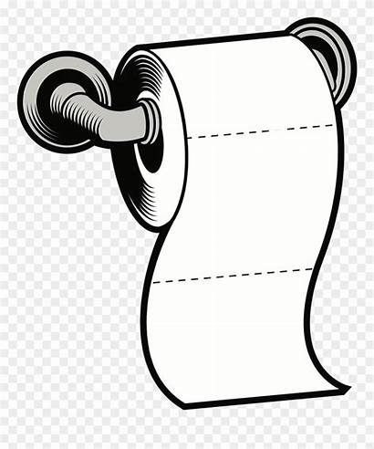 Toilet Roll Paper Clipart Clip Tissue Drawing