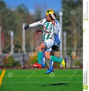 Mens Club Soccer Head Ball Editorial Stock Photo - Image ...