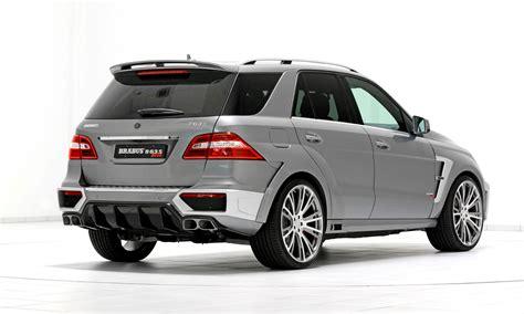 Brabus Ml-class Mercedes-benz Increases Speed, Exclusivity