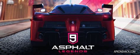 asphalt  legends mod apk obb data unlimited money