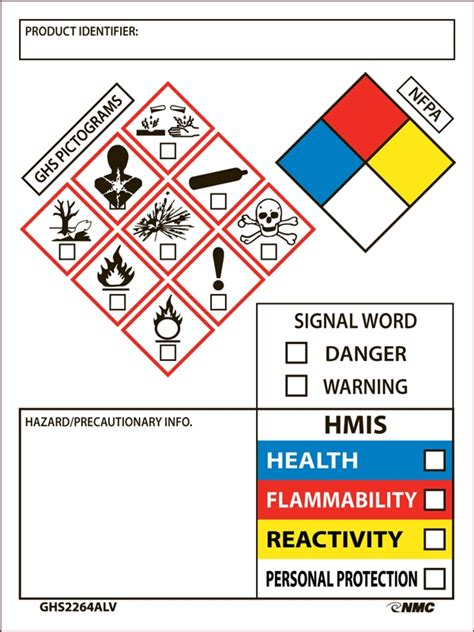 ghs label template downloadable nfpa label related keywords downloadable nfpa label keywords keywordsking