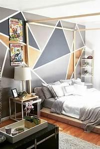 Peinture Mur Chambre : 1001 id es pour votre peinture murale originale ~ Voncanada.com Idées de Décoration