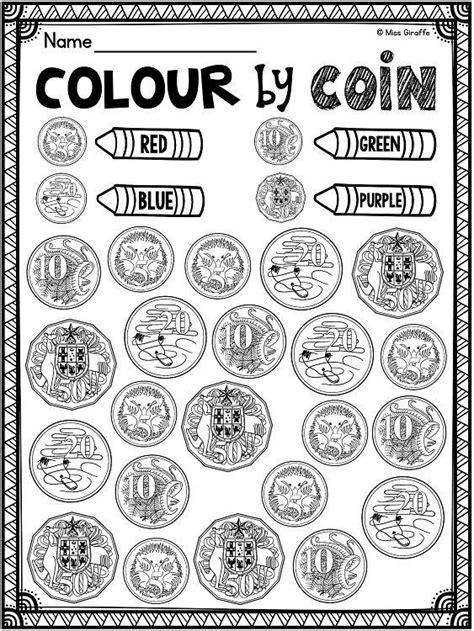 australian money australian coins mega math unit