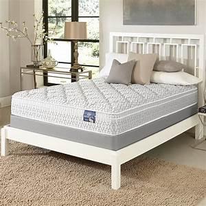 shop serta gleam euro top king size mattress set free With best king size mattress set