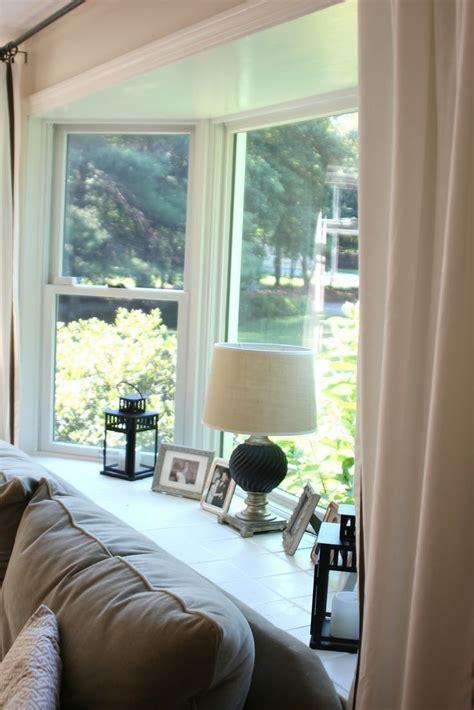 bay window decor ideas  pinterest