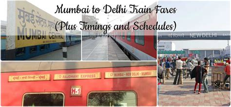 Delhi To Mumbai Train Mumbai To Delhi Train Fare India Travel Forum