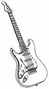 Guitar Coloring Page Fun Coloring Pages For Kids And Adults Pinterest Coloring Coloring