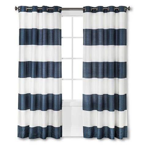 Navy And White Striped Curtains Target by Best 25 Blue Striped Curtains Ideas On