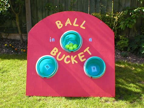 ball   bucket fete  party games hire