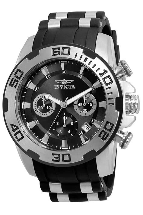Invicta Pro Diver SCUBA Mens Quartz 50mm Stainless Steel ...