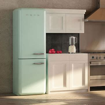 smeg  door refrigerator west elm