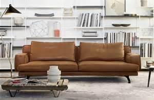 design ledersofa wohnzimmer sofa mit schlaffunktion im moderne stil aus einer kombination aus metall und leder
