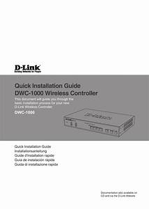 Quick Installation Guide Dwc-1000 Wireless Controller
