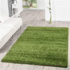 Hochflor Teppich Grün : teppich shaggy hochflor teppiche langflor modern weich qualit t in gr n hochflor teppich ~ Markanthonyermac.com Haus und Dekorationen