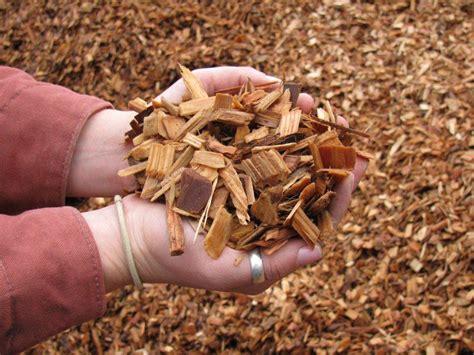 wood chip mulch bark mulches