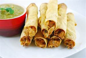 baked chicken taquitos blissfully delicious
