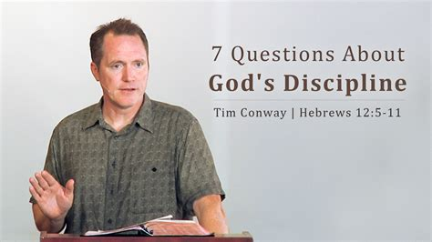 7 Questions About God's Discipline  Tim Conway  I'll Be