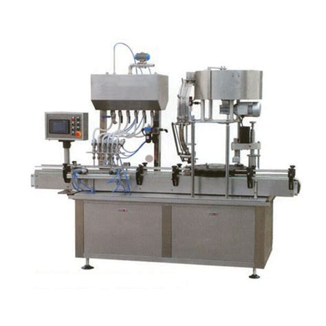 pack tech fully automatic  litre jar washing filling capping machine  hp rs  unit