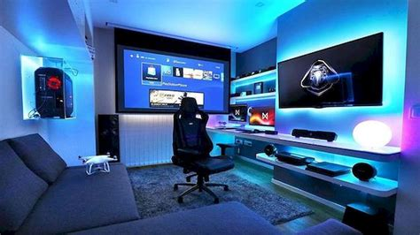 cool 45 awesome computer gaming room decor ideas and