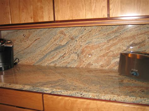 granite kitchen countertop ideas fresh backsplash ideas for busy granite countertops 23103