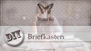 Briefkasten Shabby Chic : diy upcycling briefkasten im shabby chic selber machen ~ Watch28wear.com Haus und Dekorationen