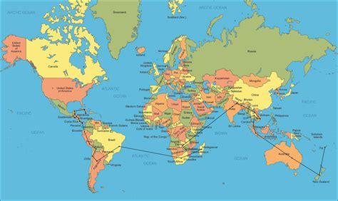 World Map  Free Large Images