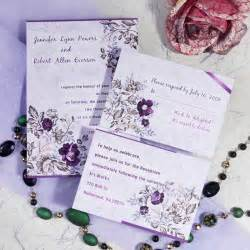 order flowers online cheap purple floral printable wedding invitation cards
