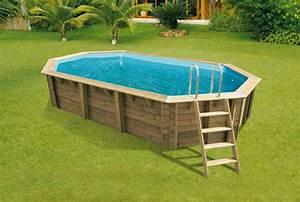 Piscine Ovale Hors Sol : piscine hors sol bois bahia first 6 70 x 4 00 m h 1 30 ~ Dailycaller-alerts.com Idées de Décoration