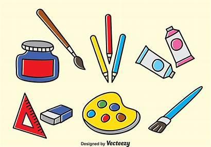 Vector Tools Drawing Clipart Graphics Crayon Vectors