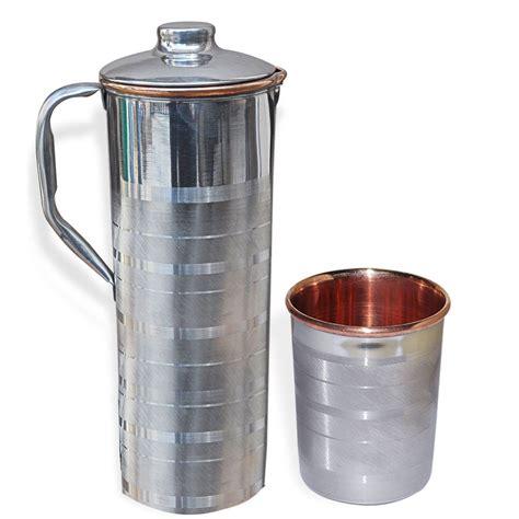 copper utensils kitchen jug tumbler healing dakshcraft ayurveda glass pure