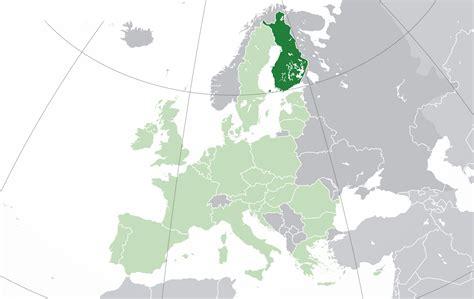 mapa de finlandia donde esta queda pais encuentra