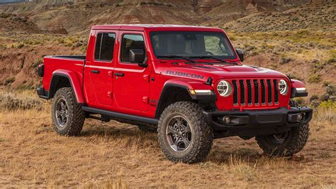 Jeep Gladiator Is Unveiled As New Suv