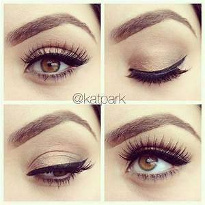 Simple Eye Makeup Tutorial For Beginners   Makeup for ...