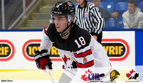 liam foudy joins knights contingent  canadas summer