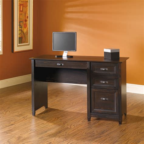 sauder computer desks sauder select pedestal desk 408775 sauder
