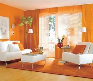 Wohnzimmer In Orange Orange Wohnzimmer Design 40 Bilder