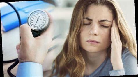 high blood pressure symptoms  signs