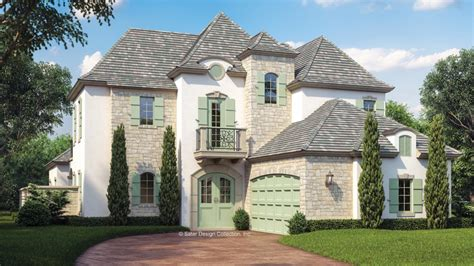 French Country House Plans And French Country Designs At