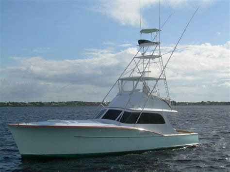 Used Sport Fishing Boats Florida by 1957 Used Rybovich Sports Fishing Boat For Sale 198 000