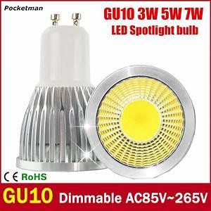Led Gu10 7w : super bright gu10 led bulb 3w 5w 7w led lamp light gu10 cob dimmable gu 10 led spotlight warm ~ Eleganceandgraceweddings.com Haus und Dekorationen