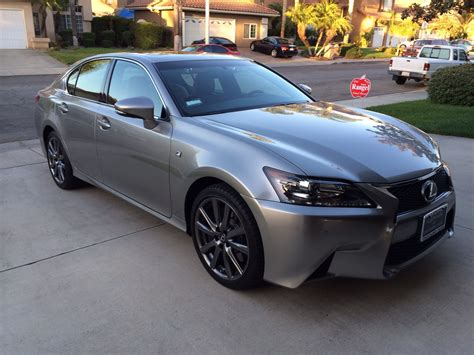 lexus atomic silver just got my 2015 gs350 f sport atomic silver page 6