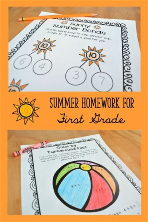 Helping Minimize Summer Learning Loss Summer Homework And Learning Activities For K2
