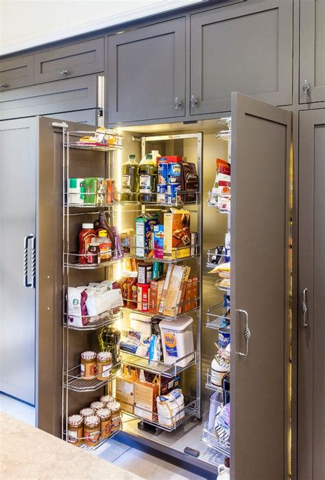 outstanding built  pantry cabinet ideas  cooktop glass