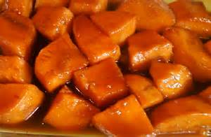 bake yams cooking with sugar candied yams