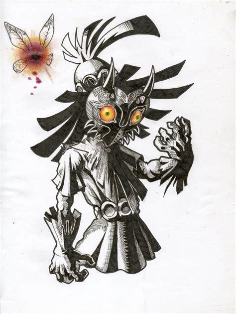 Fan Art The Legend Of Zelda Majoras Mask By Cesarzoom On