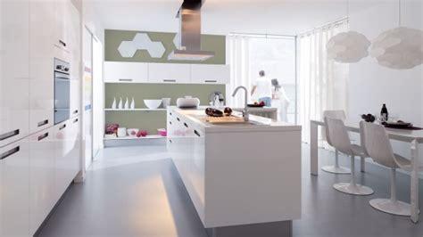 cuisine comtemporaine la cuisine avec ilot central tendance conviviale et